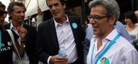 António Fonseca e Rui Moreira em campanha