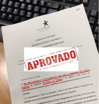 Proposta de alteração ao OGE19 com carimbo de APROVADO